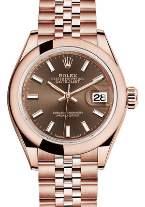 Rolex Lady-Datejust 28 279165 Chocolate dial