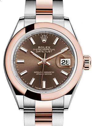Rolex Lady-Datejust 28 279161 Chocolate dial