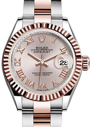 279171 Sundust dial Rolex Lady-Datejust 28