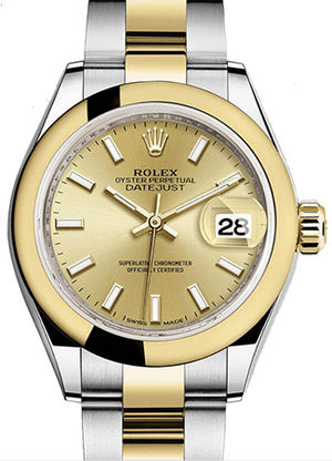 Rolex Lady-Datejust 28 279163 Champagne dial