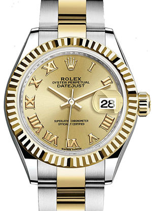 Rolex Lady-Datejust 28 279173 Champagne dial