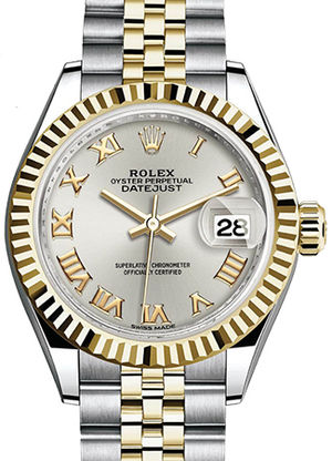 Rolex Lady-Datejust 28 279173 Silver dial
