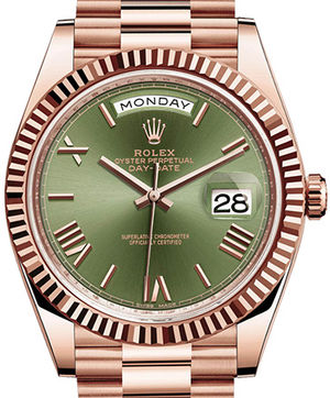 Rolex Day-Date 40 228235 Olive green