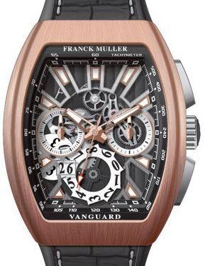 V 45 CC GD SQT 5N BR NR AC Franck Muller Vanguard