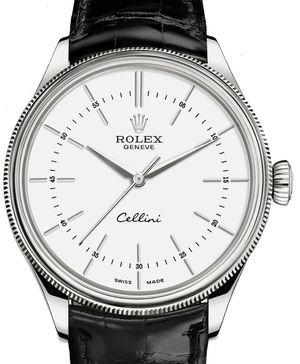 50509 white lacquer dial Rolex Cellini
