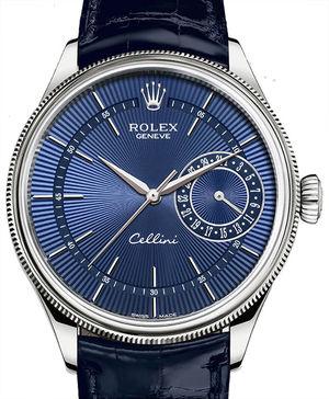 50519 blue dial Rolex Cellini