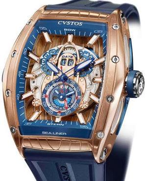 challenge sea liner gmt pink gold Cvstos Challenge Sea-Liner