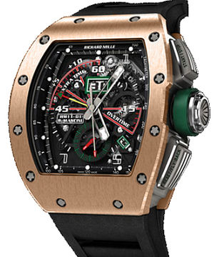 RM 11-02 Pink Gold Richard Mille Mens collectoin RM 001-050