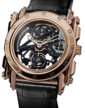 Manufacture Royale Androgyne Collection Androgyne Origine Rose Gold