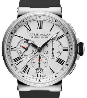 1533-150-3/40 Ulysse Nardin Marine Chronograph