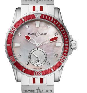 3203-190-3R/10.16 Ulysse Nardin Diver Lady