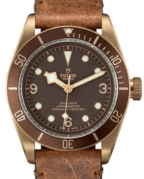 79250BM Aged leather strap Tudor Heritage