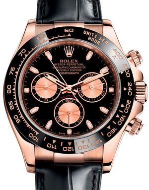 Rolex Cosmograph Daytona 116515LN Black and pink
