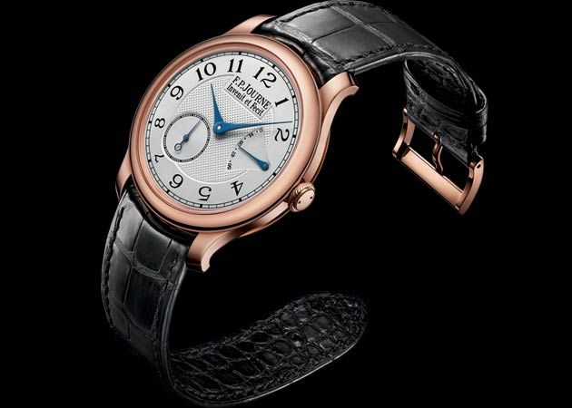 CS 18K red Gold 38 F.P.Journe часы Chronometre