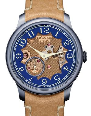 Chronometre Bleu Byblos F.P.Journe Souveraine