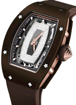 RM 07-01 TPZ-Z brown ceramic Richard Mille RM Womens collection