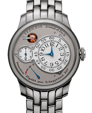 Chronometre Optimum Platinum 40 Bracelet F.P.Journe Souveraine