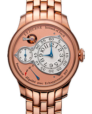 Chronometre Optimum rose Gold 40 Bracelet F.P.Journe Souveraine