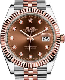 Часы Rolex Datejust 41 Rolesor Everose