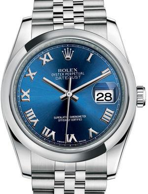 Rolex Datejust 36 116200 Blue Roman Jubilee Bracelet