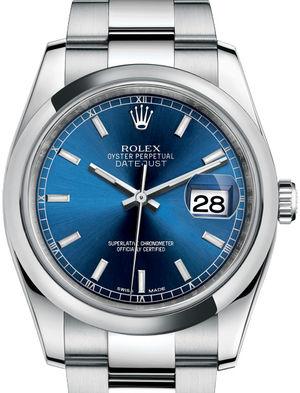 Rolex Datejust 36 116200 Blue index Oyster Bracelet