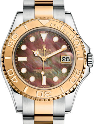 Rolex Yacht-Master 168623 Black mother-of-pearl