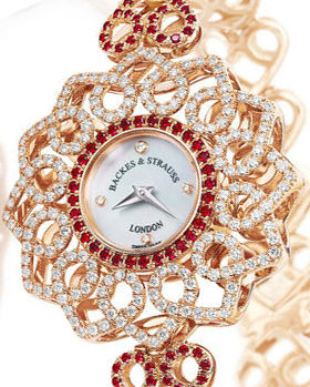 The Victoria Princess Red Heart Watch For Only 201 Backes & Strauss Victoria Collection