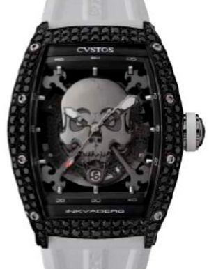 GT Black Steel Titanium Components Black Diamond Cvstos Challenge Jet-Liner Inkvaders Skull