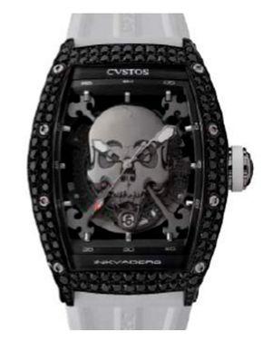 Black Steel Titanium Components Black Diamond Cvstos Challenge Jet-Liner Inkvaders Skull
