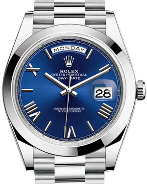Rolex Day-Date 40 228206 Blue