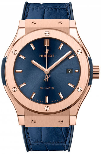 542.ox.7180.lr Hublot часы Classic Fusion Automatic Gold 42mm