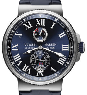 1183-122/43 Ulysse Nardin Marine Chronometer