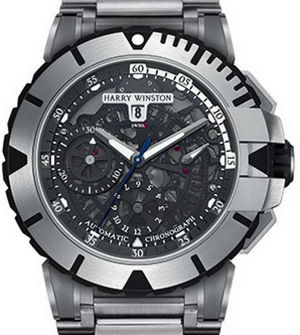 Harry Winston Ocean Sport Chronograph and Diver OCSACH44ZZ003