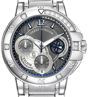 Harry Winston Ocean Sport Chronograph and Diver OCSACH38ZZ007