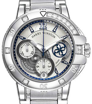 Harry Winston Ocean Sport Chronograph and Diver OCSACH38ZZ008
