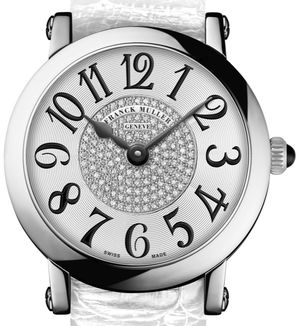 8038 QZ CD 1P white Franck Muller Round collection