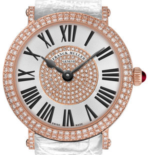8038 QZ D CD 1P white Franck Muller Round collection