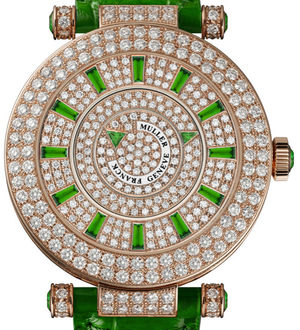 42 DM D 2R CD green Franck Muller Double Mystery