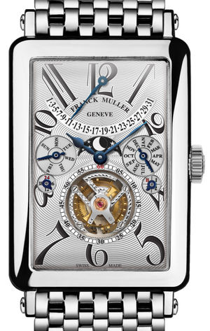 Franck Muller Long Island 1350 T QP Silver Dial