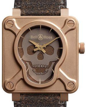 Bell & Ross BR 01 Skull BR0192-SKULL-BR