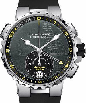 1553-155LE-3/E2-ART Ulysse Nardin Marine Chronograph