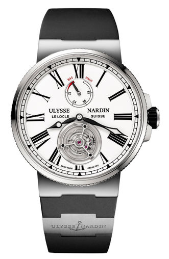 1283-181-3/E0 Ulysse Nardin часы Tourbillon Grand Feu