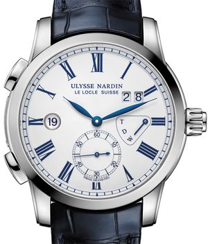 3243-132/E0 Ulysse Nardin Dual Time Manufacture