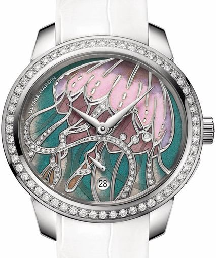 3103-125B/E6 Ulysse Nardin часы Lady Manufacture Jellyfish