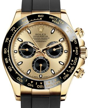 Rolex Cosmograph Daytona 116518LN Champagne-colour and black