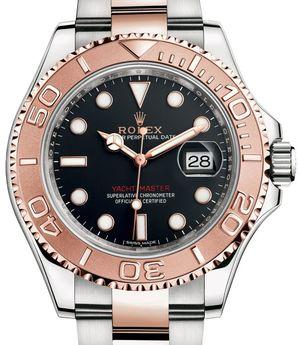 116621 Black Rolex Yacht-Master