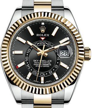326933 Black Rolex Sky-Dweller