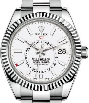 326934 White Rolex Sky-Dweller