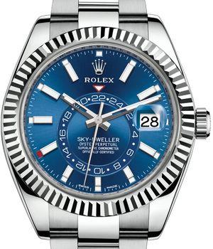 326934 Blue Rolex Sky-Dweller