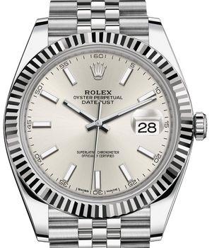 Rolex Datejust 41 126334 Silver Index